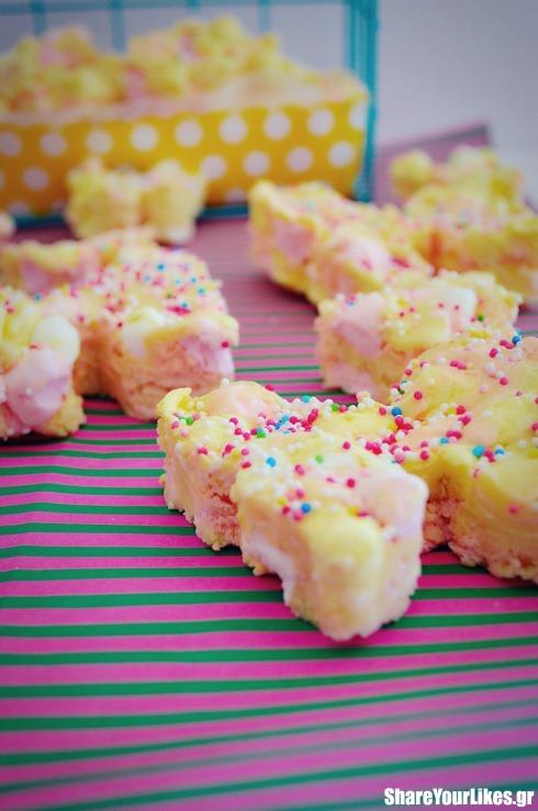 ανοιξιατικες πεταλούδες μωσαϊκο με marshmallows_ccc
