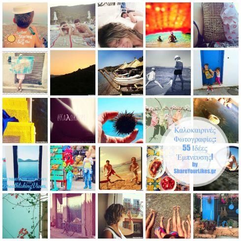 55 summer photo ideas_SYL ideas Collage